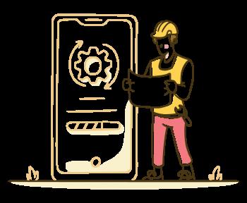 Consultoria em Sistemas - Uma pessoa Segurando um Papel como se Fosse um Engenheiro de Sistemas